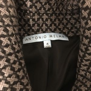 Antonio Melani size 4 cropped coat